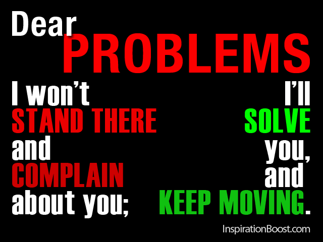Problems quote #3