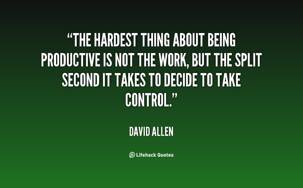 Productive quote #1