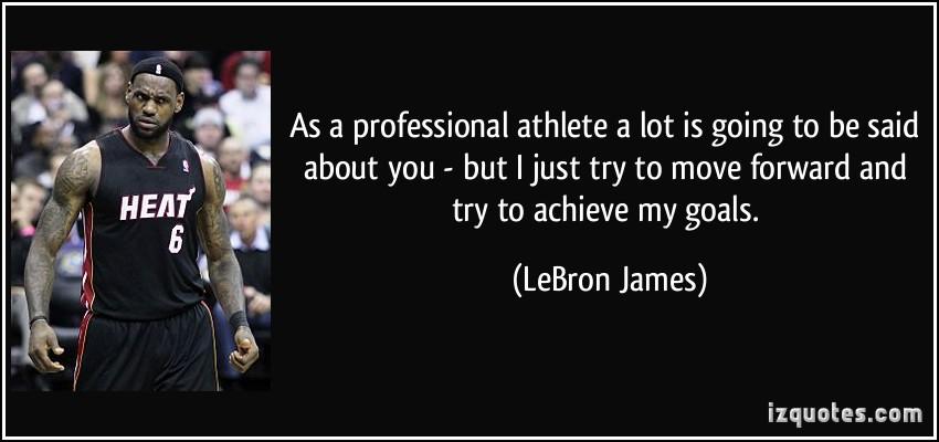 Professional Athletes quote #1