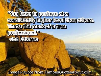 Professional quote #1