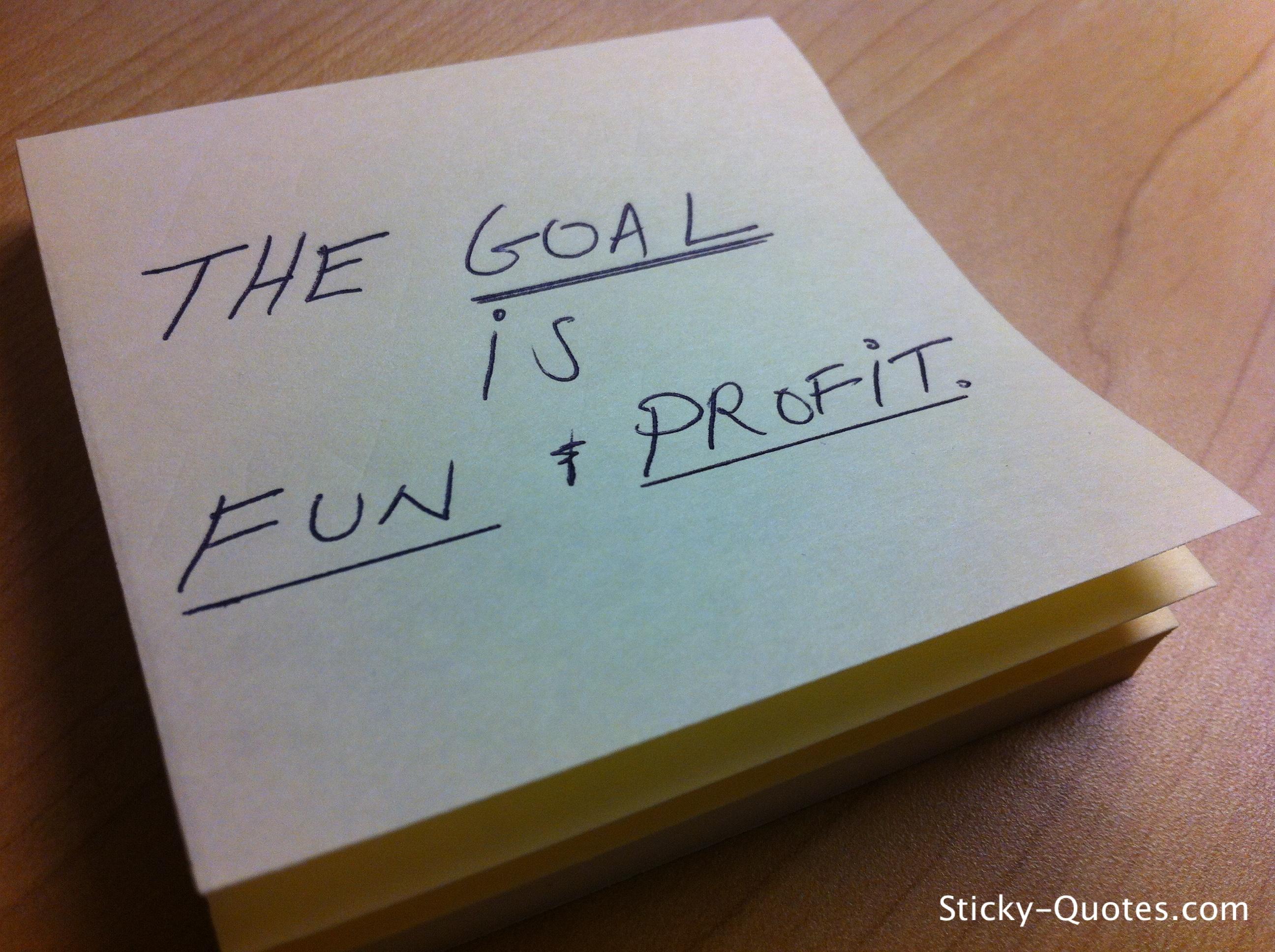 Profit quote #6