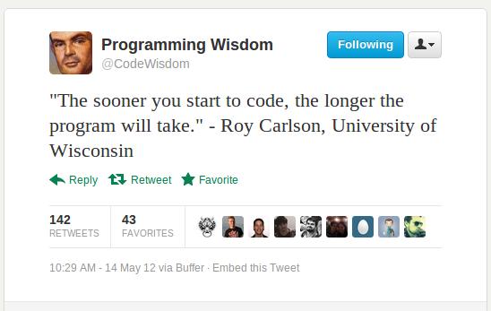 Program quote #1