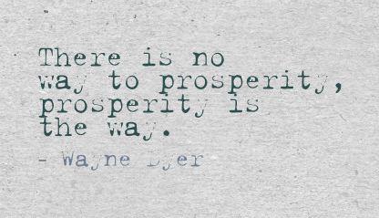 Prosperity quote #6