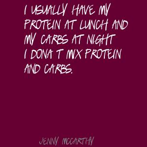 Protein quote #1