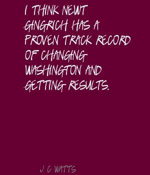 Proven Track Record quote #2