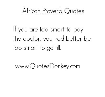 Proverb quote
