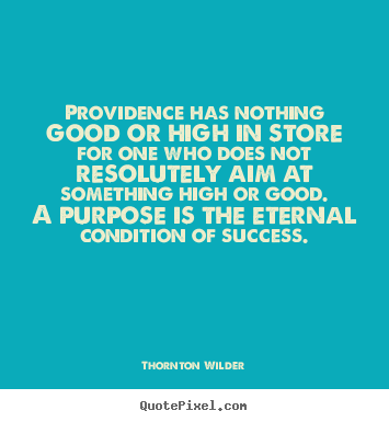 Providence quote #1