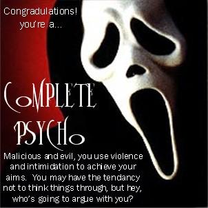 Psycho quote #1