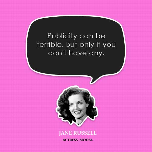 Publicity quote #1