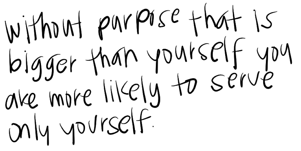 Purpose quote #7