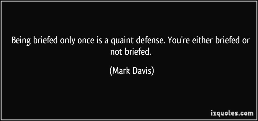 Quaint quote #1