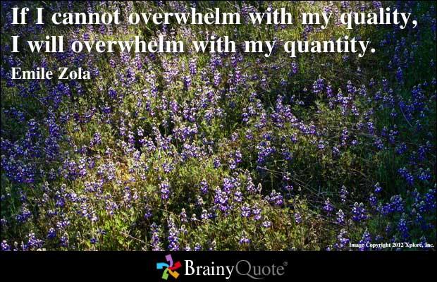 Quantities quote #1