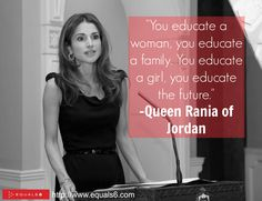 Queen Rania of Jordan's quote #1