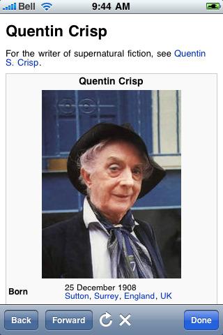 Quentin Crisp's quote #8