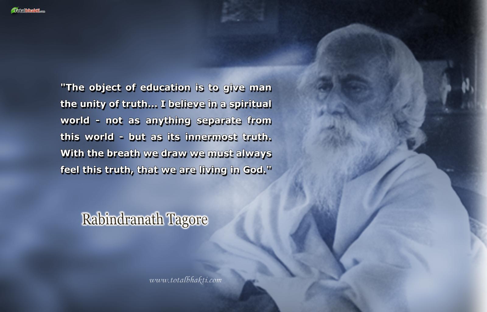 Rabindranath Tagore's quote #2