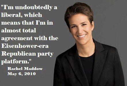 Rachel Maddow's quote #1