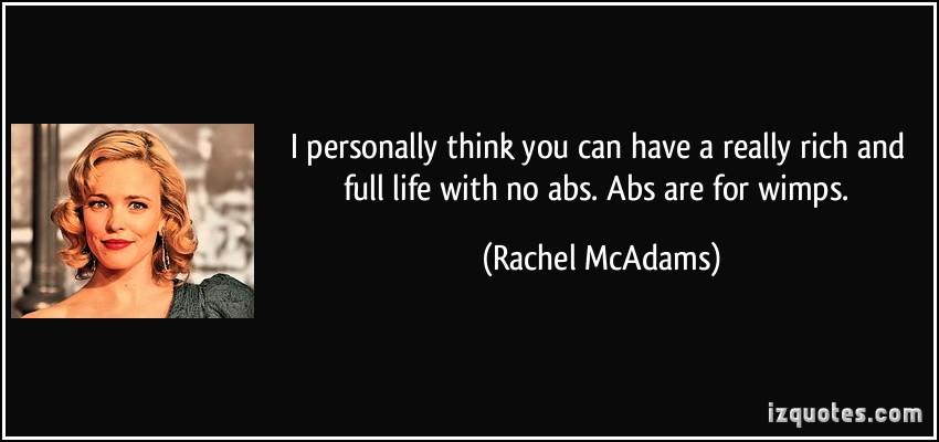 Rachel McAdams's quote #5