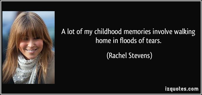 Rachel Stevens's quote #1