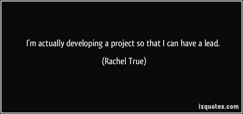 Rachel True's quote #5