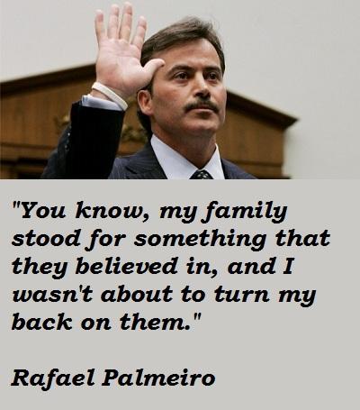 Rafael Palmeiro's quote #8