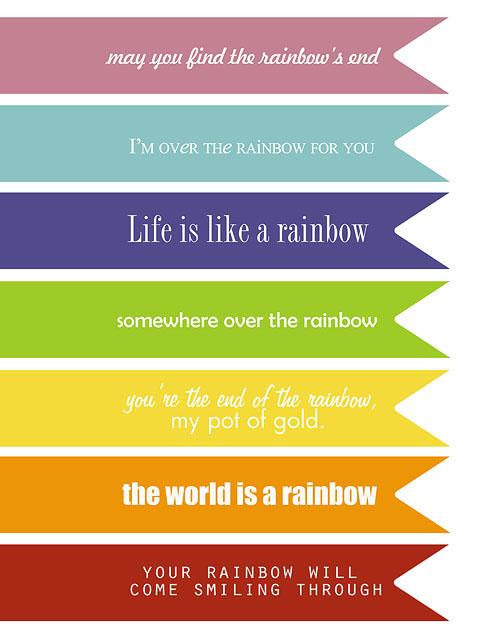 Rainbow quote #6