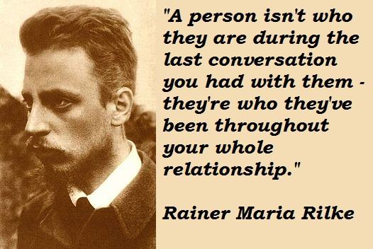 Rainer Maria Rilke's quote #2