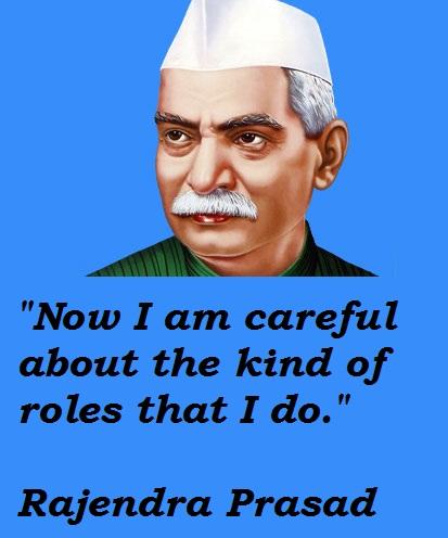 Rajendra Prasad's quote #1