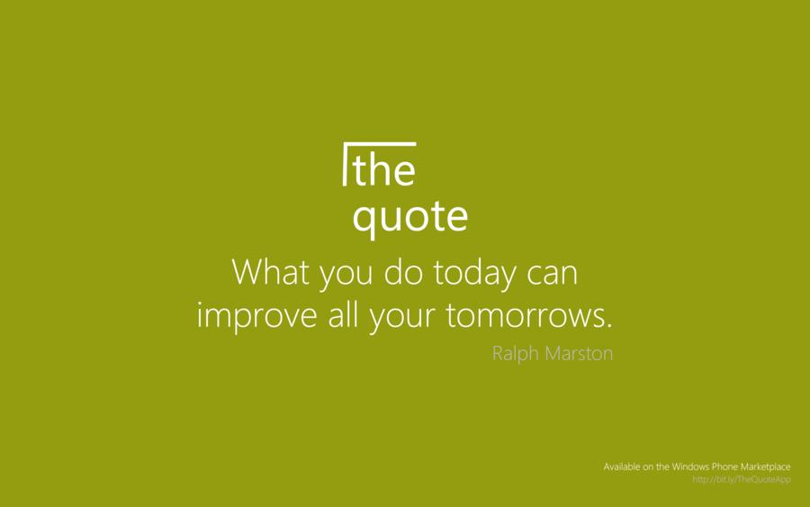 Ralph Marston's quote #6
