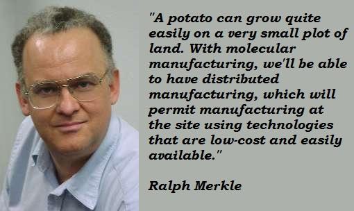 Ralph Merkle's quote #8