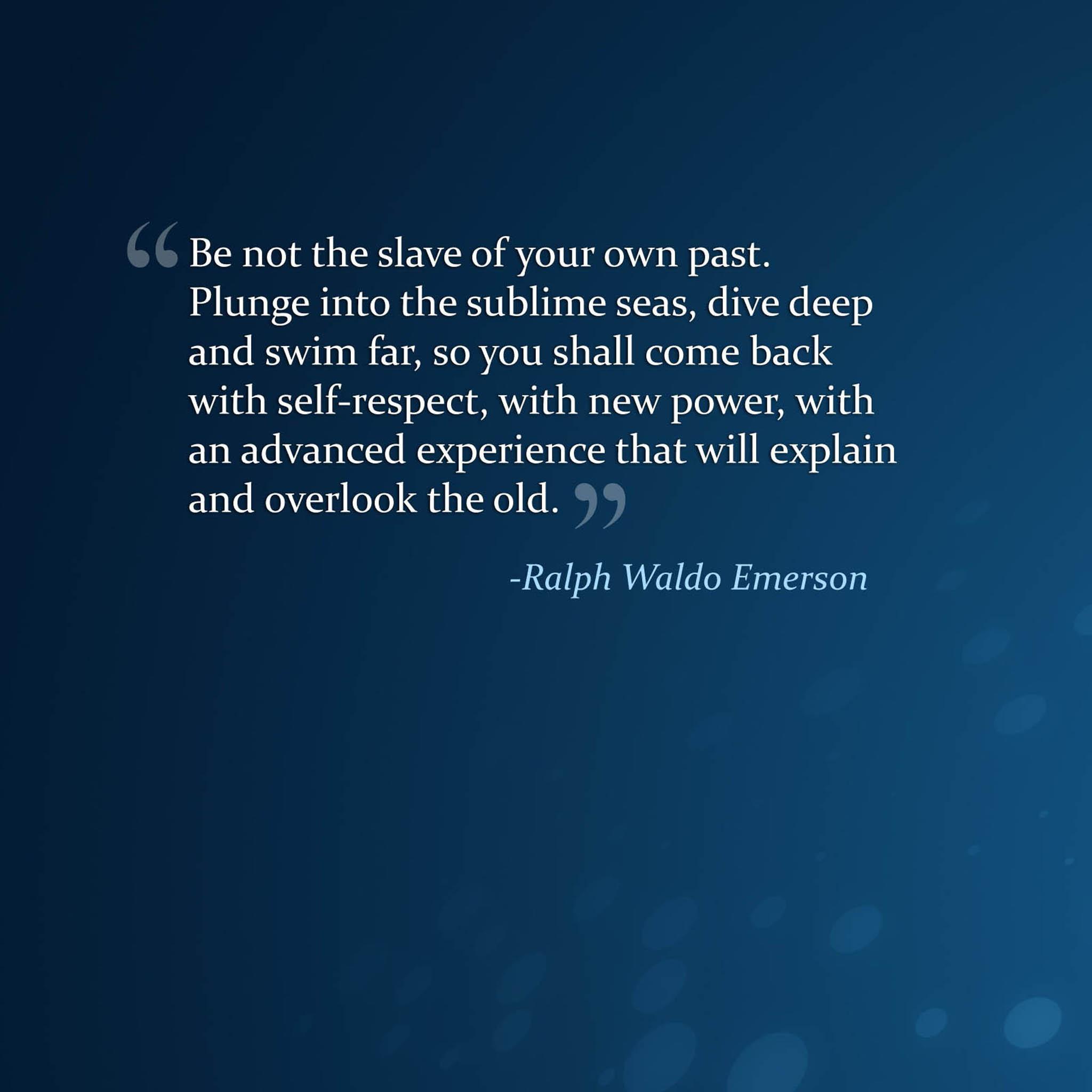 Ralph Waldo Emerson's quote #7