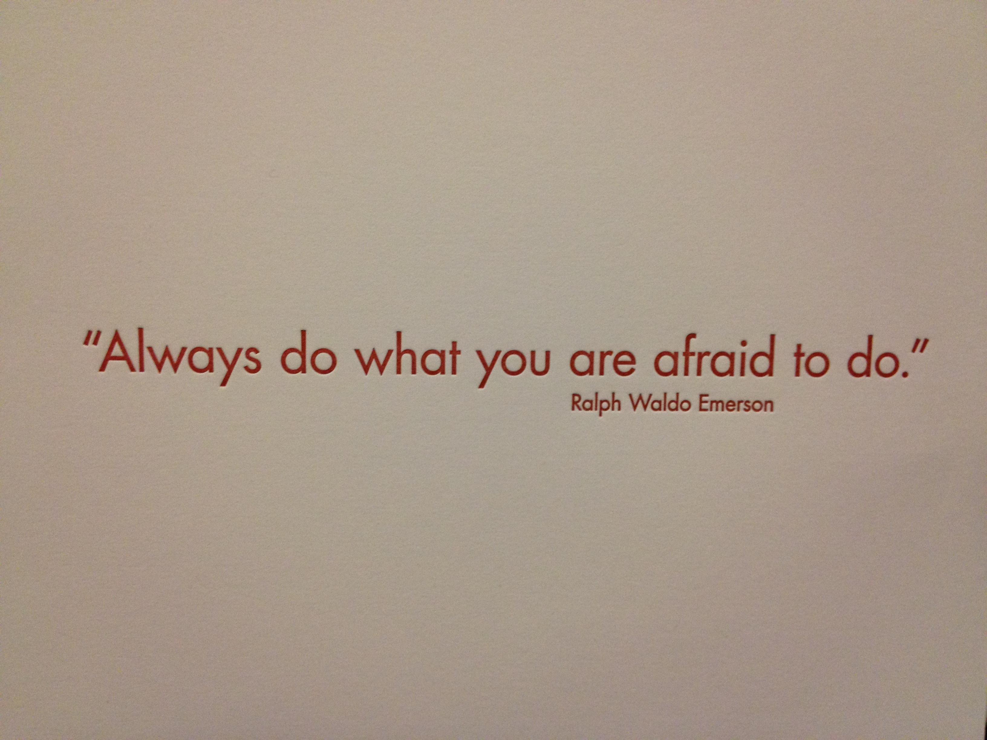 Ralph Waldo Emerson's quote #1