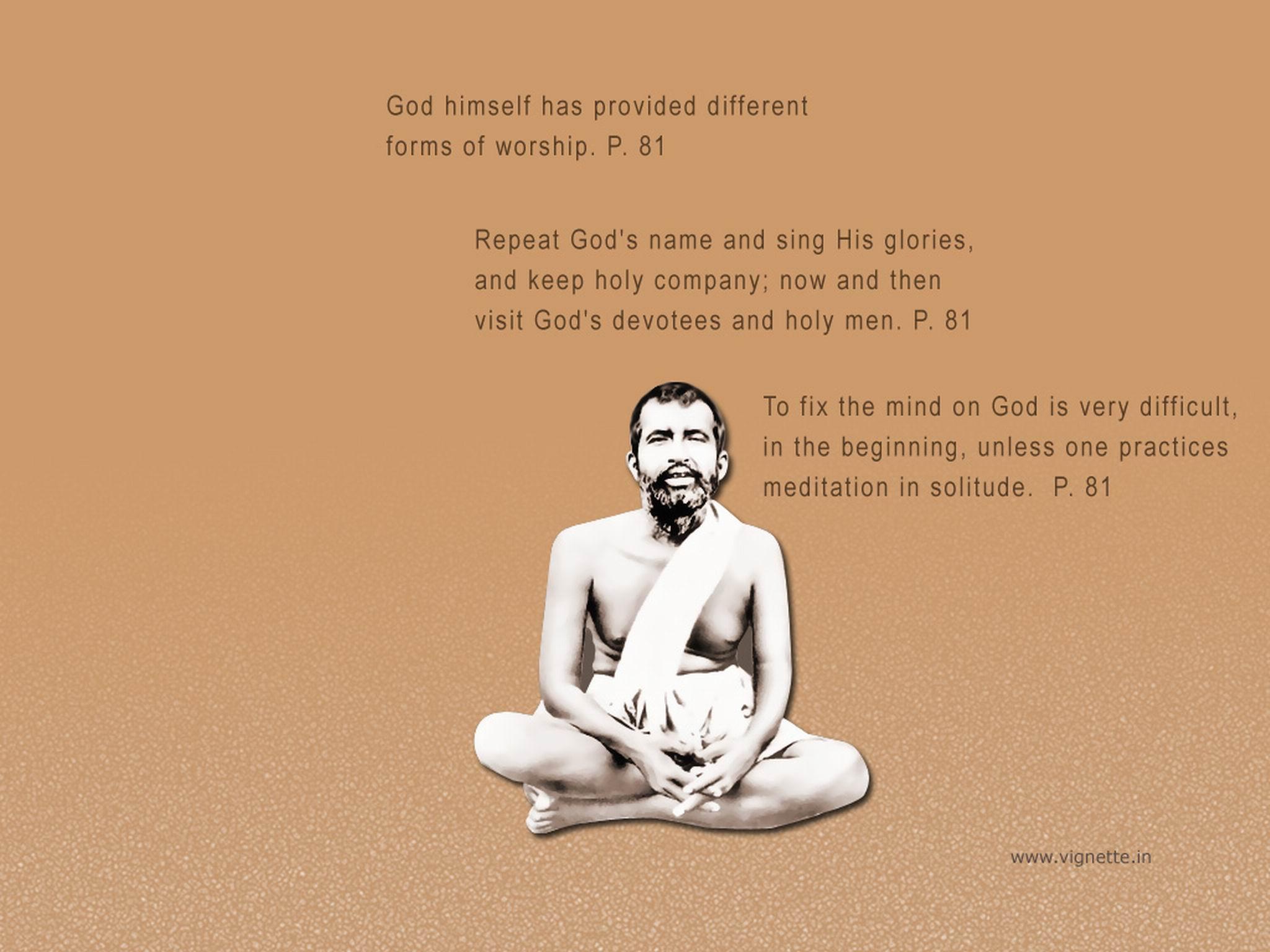 Ramakrishna's quote #4