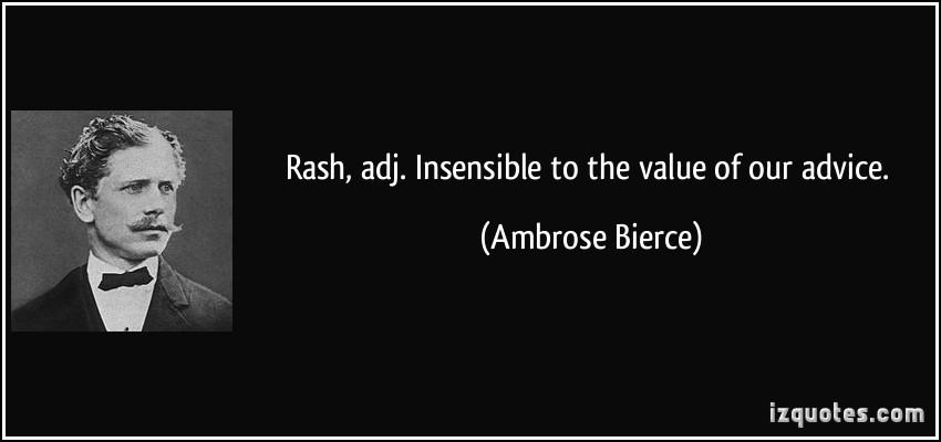 Rash quote #2