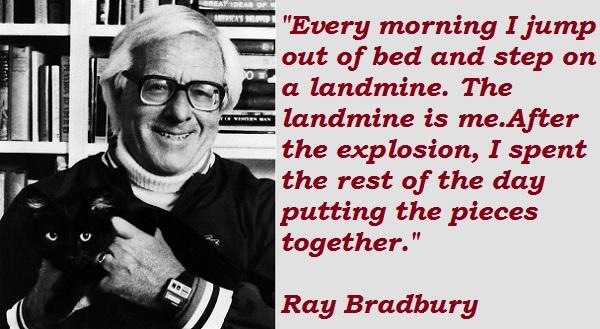 Ray Bradbury's quote #1