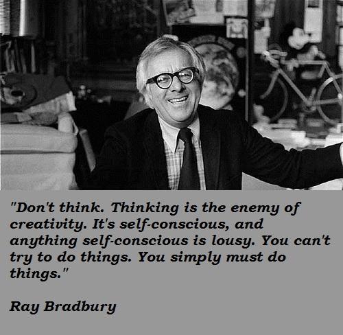 Ray Bradbury's quote #3