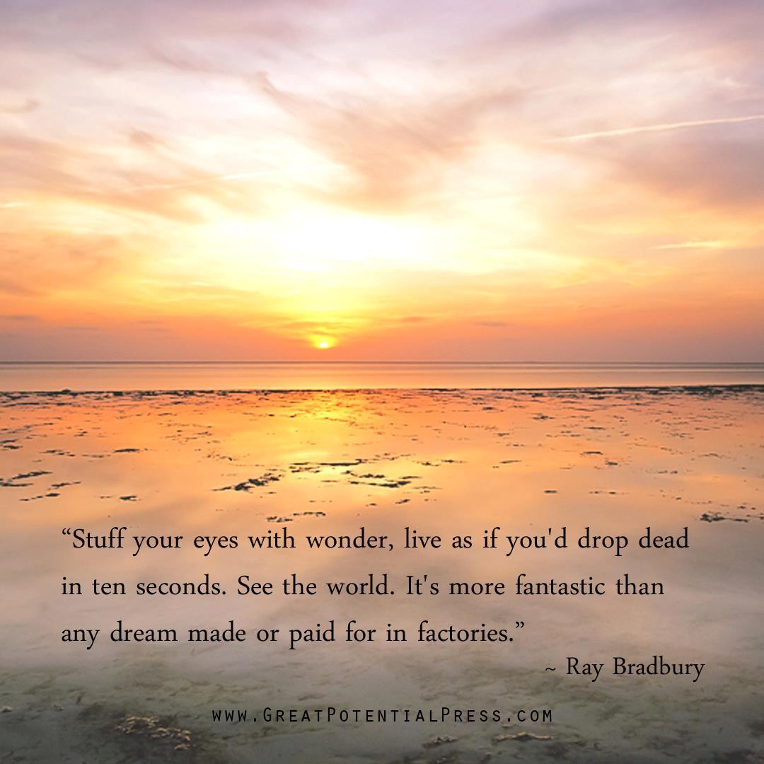 Ray Bradbury's quote #2