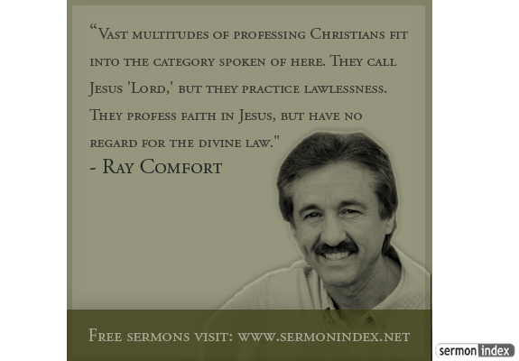 Ray Comfort's quote #4