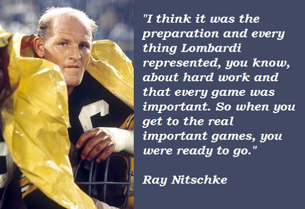 Ray Nitschke's quote #2