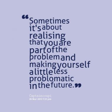 Realising quote #1