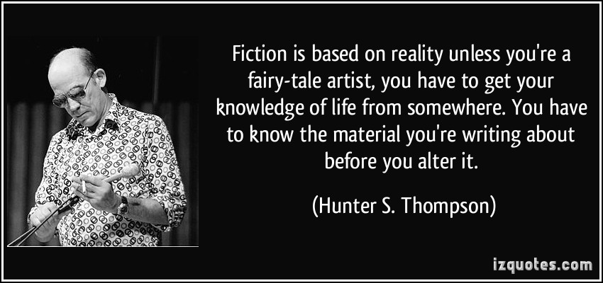 Reality-Based quote #2