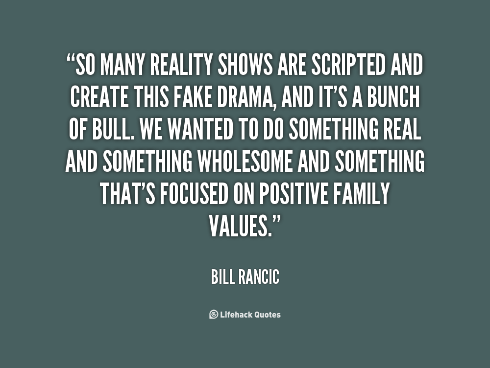 Reality Shows quote #2