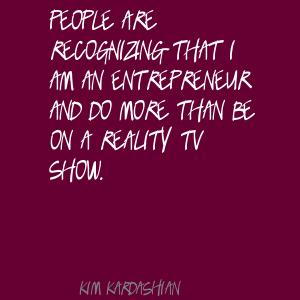 Reality Television quote #2