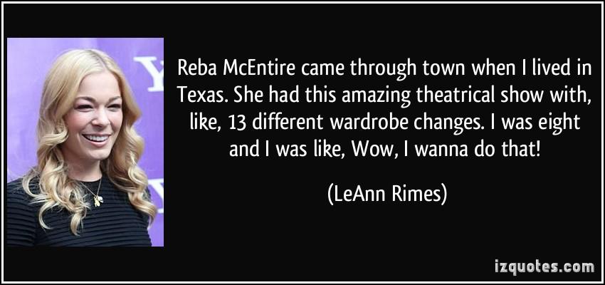 Reba McEntire's quote #5