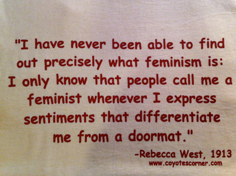 Rebecca West's quote #7