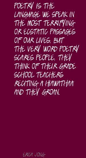 Reciting quote #2