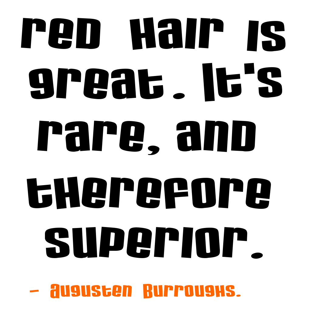 Red Hair quote #2