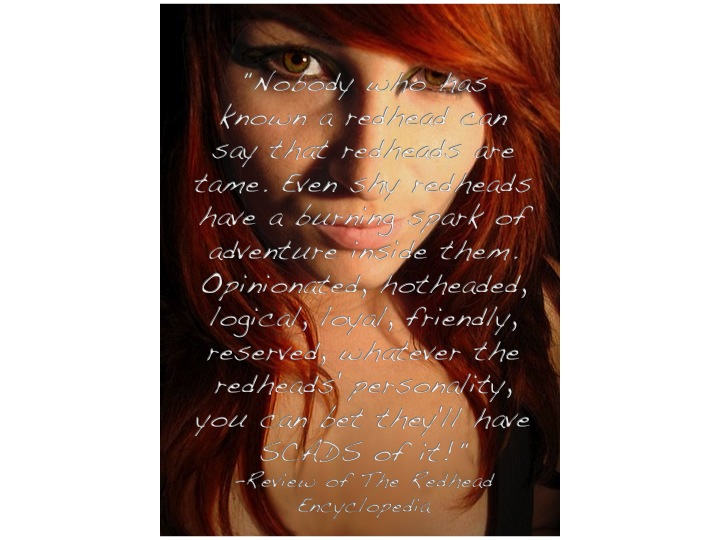 Redhead quote #2