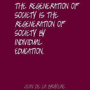 Regeneration quote #2
