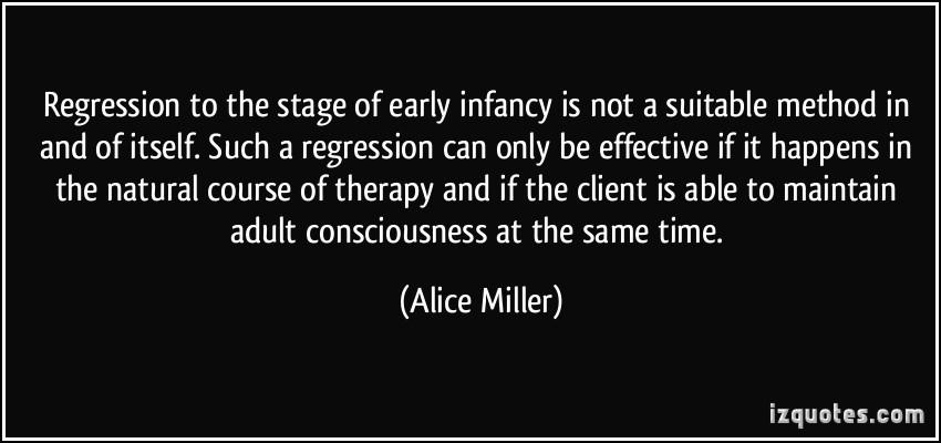 Regression quote #1