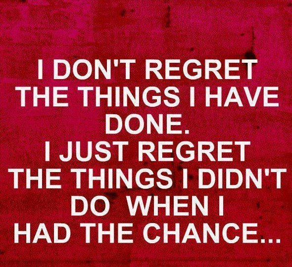 Regret quote #7